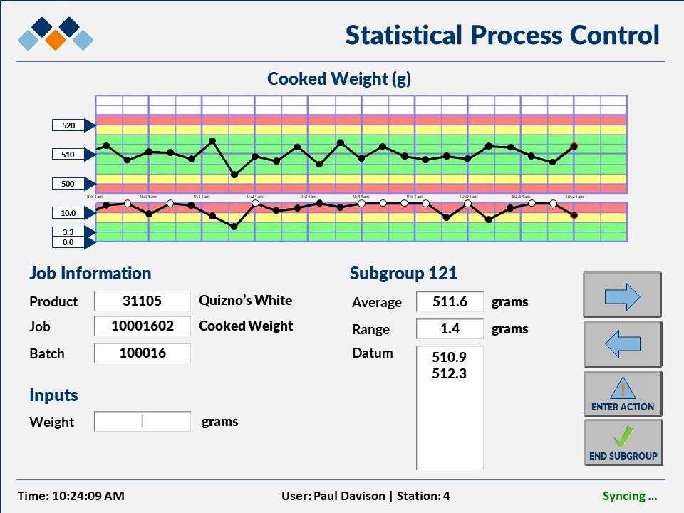 Matrix :: Data Navigator SPC Module User Interface